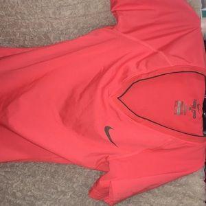 Neon orange t shirt